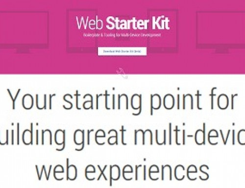 Google launches Web Starter Kit